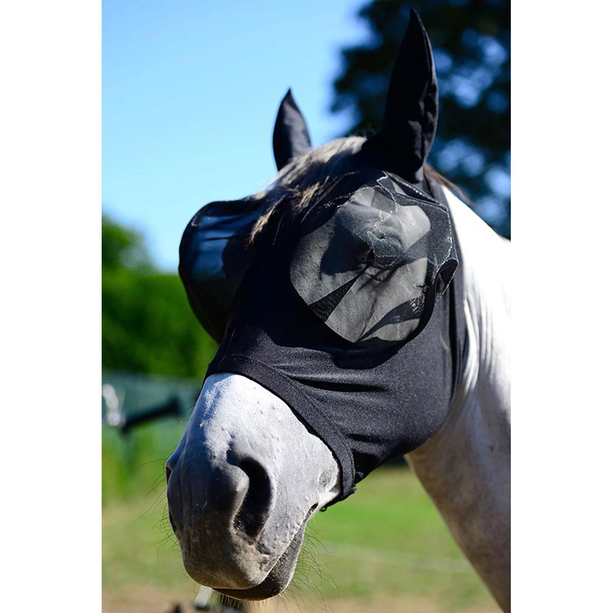 08ba1d9d9ae76f Bonnet masque anti-mouches Kentucky Slim Fit, ajustement près du cheval