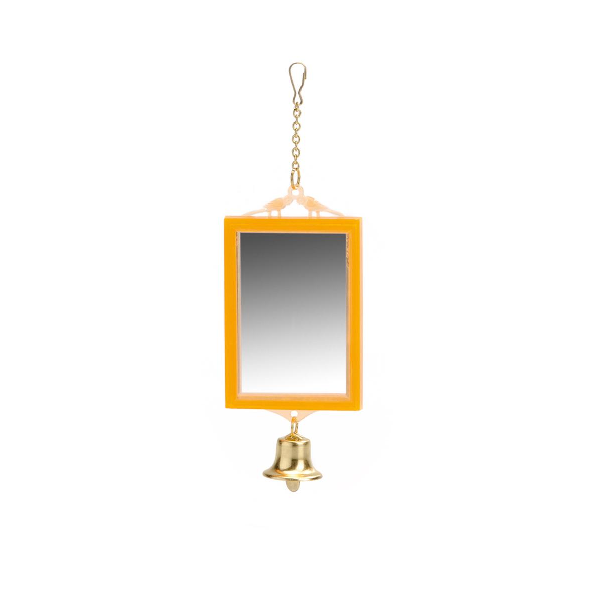 Beeztees miroir en plastique avec clochette horze for Miroir en plastique