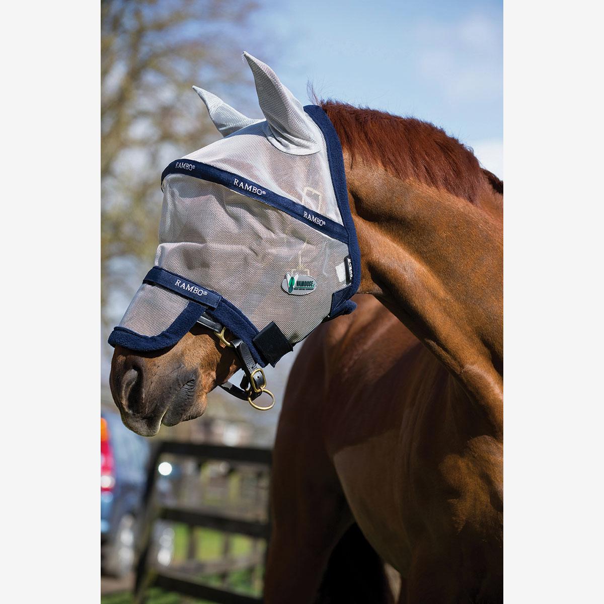 96fd03ced46dae Masque anti-mouches Horseware Rambo Plus Vamoose