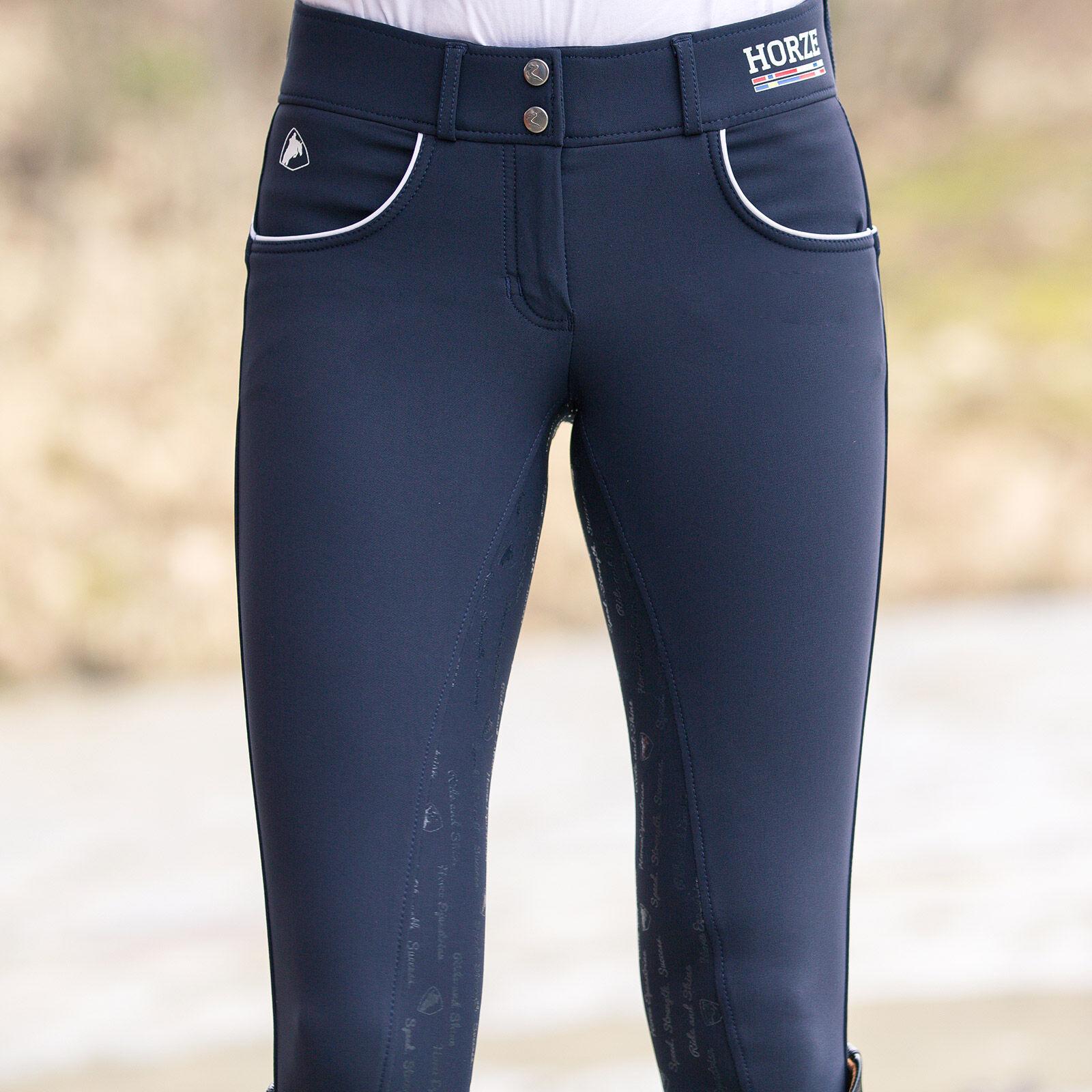 Pantalon d'équitation Nordic Performance Horze à grip silicone, femme